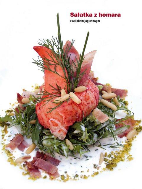 Sałatka z homara