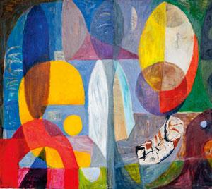 Stanisław Młodożeniec, Wieczór, 136 x 153, olej, płótno, 2010