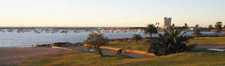 Pierwszy krok na uruwajskiej ziemi - marina w Montevideo/Fot. W. Giebuta