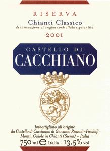 Etykieta Chianti | Fot. Archiwum