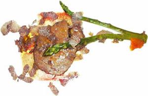 Mięso z płatkami trufli/Fot. S. Kamiński