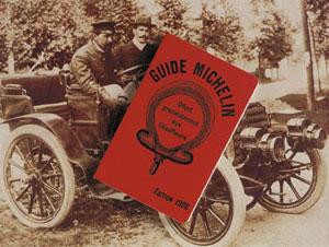 Pierwszy przewodnik Michelina z 1900 roku/Fot. Michelin