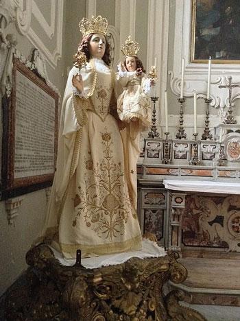 Madonna della Bruna, opiekunka miasta Matera   fot. Asia / Wikimedia Commons