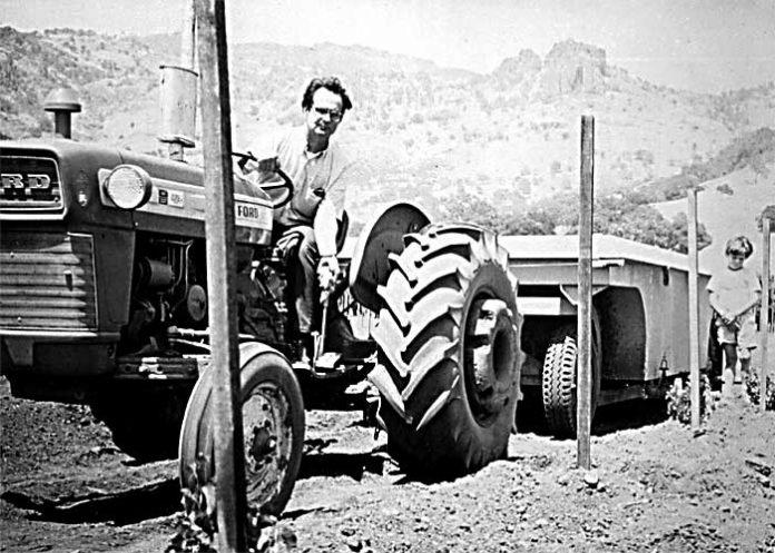 Warren Winiarski przy pracy | fot. archiwum Warrena Winiarskiego