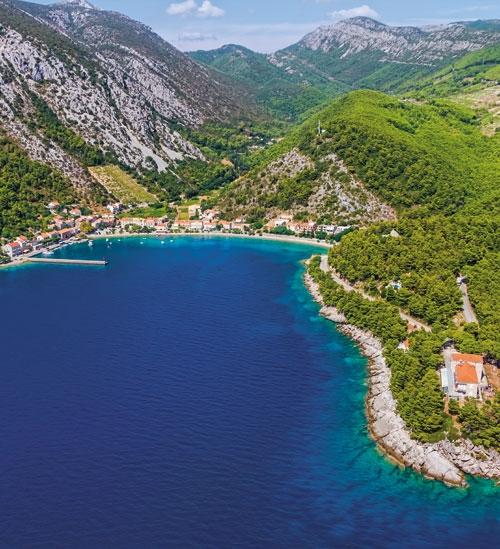 Chorwacja na czerwono