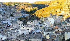 Matera – miasto jaskiń