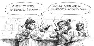 Poziom alkoholu w winie