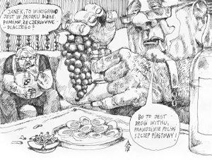 Białe wino powstaje zawsze zbiałych winogron
