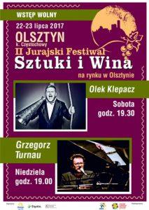 Wino i sztuka w Jurajskim Olsztynie