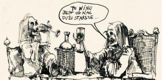 Wino im starsze, tym lepsze | rys. Andrzej Zaręba | CW nr 87