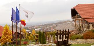 widok z Château Vartely, jednej z najlepszych winiarni w Mołdawii