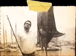 Stary człowiek i ryba