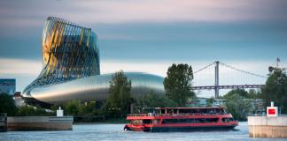 Bordeaux miasto wina