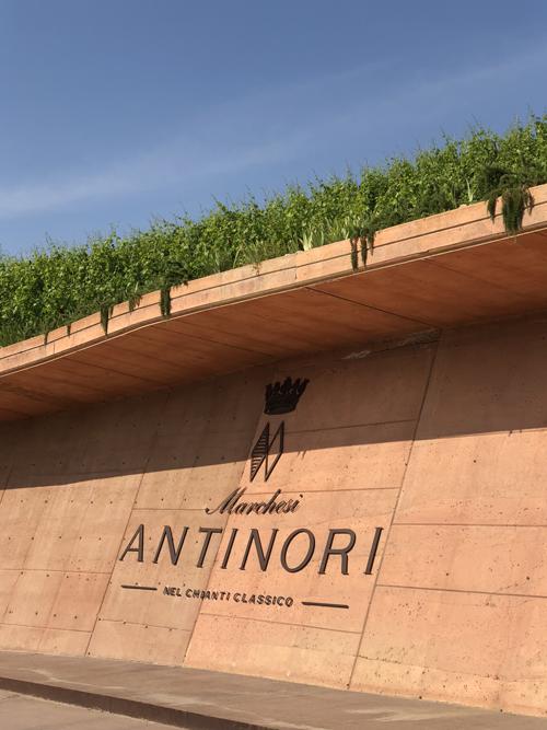 fasada siedziby Marchesi Antinori | fot. P. Gąsiorek
