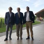 od lewej: Paweł Gąsiorek, Piero Antinori, Michał Bardel | fot. Paweł Gąsiorek