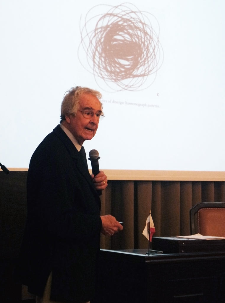 Warren Winiarski w czasie wykładu w Collegium Medicum UJ, Kraków 2017 | fot. Alicja Dziura