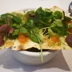 Słodko-kwaśne pomidory ze Starego Kleparza ukryte pod chrupiącym waflem | fot. JKS
