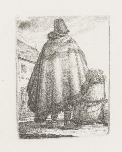 Handlarz winem, Medyka 1837 | K.W. Kielisiński | polona.pl