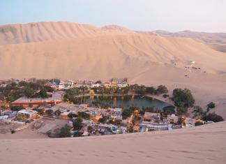 Huacachina, oaza na pustyni obok Ica | fot. B. Winiarska