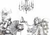 Wsadzając nos do kieliszka, można z niego wyciągnąć nuty goździków, masła, psiej sierści czy kocich sików. | rys. Andrzej Zaręba | CW nr 94