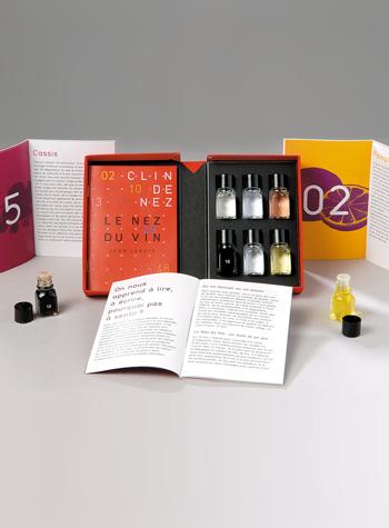 Le Nez du Vin Jeana Lenoira to jeden ze sposobów na naukę aromatów zawartych w winie