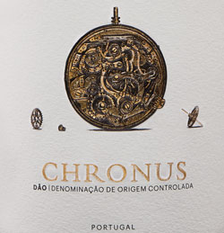 detal butelki Chronus Reserva