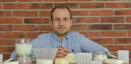 Jakub Krężel, właściciel i założyciel sklepu Serowar.pl | fot. archiwum J. Krężel