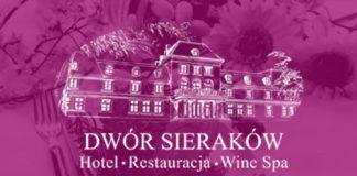 ilustracja Dwór Sieraków logo