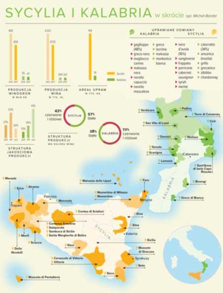 infografika wino Kalabria