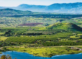 widok na Wzgórza Golan | Mikhail Berman / shutterstock