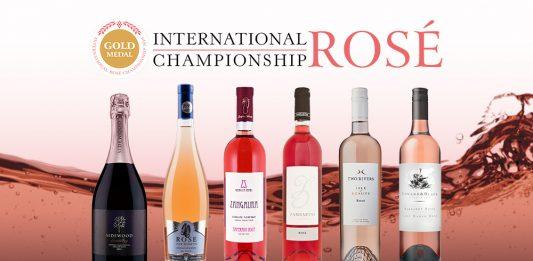 Wina nagrodzone złotym medalem na International Rosé Championship 2019   Gold Medal wines from International Rosé Championship 2019