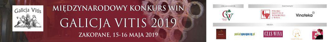 Międzynarodowy konkurs win Galicja Vitis 2019 Zakopane