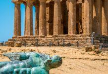 Agrigento ruiny świątyni