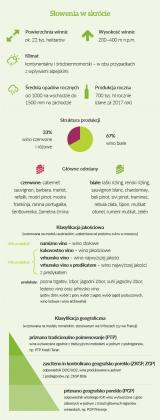 Wina ze Słowenii | infografika © Czas Wina