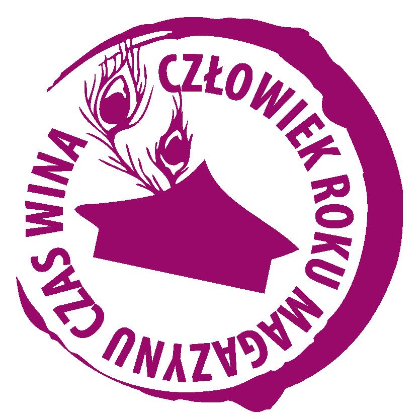 """Człowiek Roku magazynu """"Czas Wina"""" logo"""