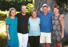 Rodzina Ibbotsonów w komplecie: Sarina, Tony, Judy, Neal i Julie | fot. Jessica Jones