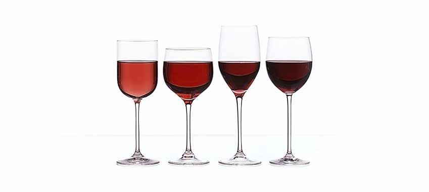 Różne barwy czerwonego wina