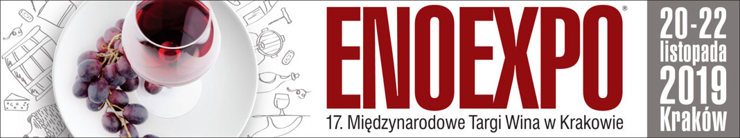Enoexpo 2019 17. Międzynarodowe Targi Wina w Krakowie banner
