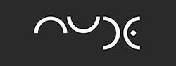 NUDE kieliszki logo