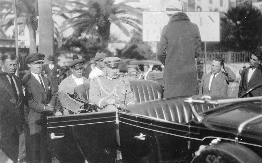 Marszałek Józef Piłsudski na Maderze