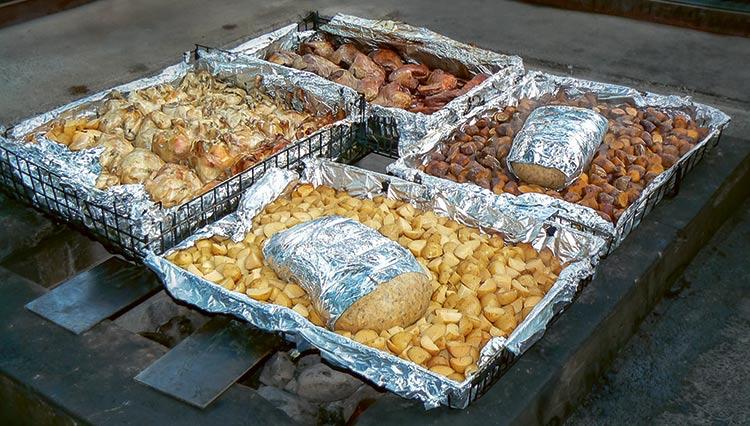 Potrawy przygotowywane na hangi