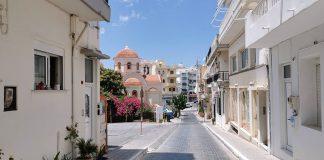 Marouvas skazane na zapomnienie, uliczki Ajos Nikolaos