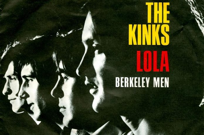 The Kinks Lola okładka singla
