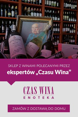 """Czas Wina Enoteka – sklep z winami polecanymi przez ekspertów """"Czasu Wina"""". Zamów z dostawą do domu"""