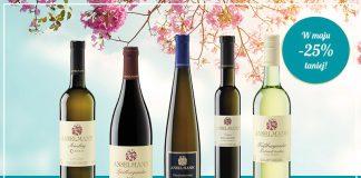 Wina reńskie taniej w maju