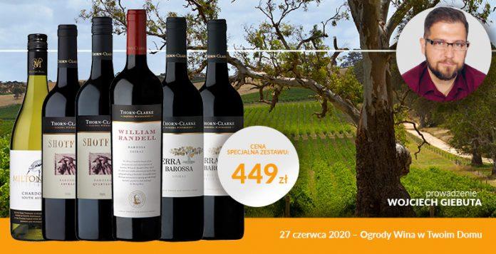 Masterclass z winami z doliny Barossa Ogrody Wina w Twoim domu
