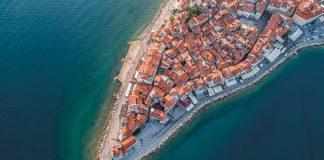 Istria zrównoważona. Stare miasto w Piranie
