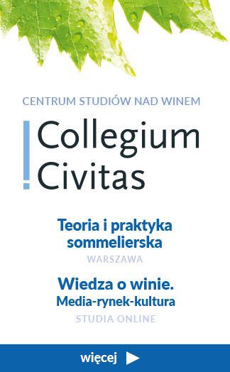 Collegium Civitias studia podyplomowe teoria i praktyka sommelierska wiedza o winie media rynek kultura