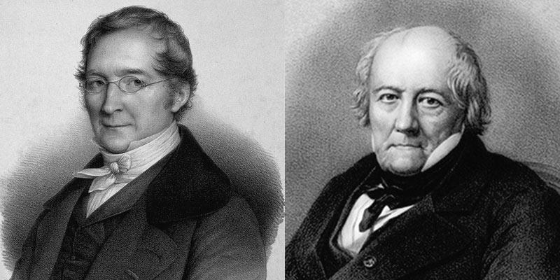 Joseph Gay-Lussac oraz Jean-Baptiste Biot.