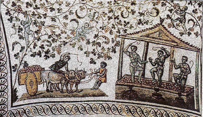 Starożytne prasy winiarskie
